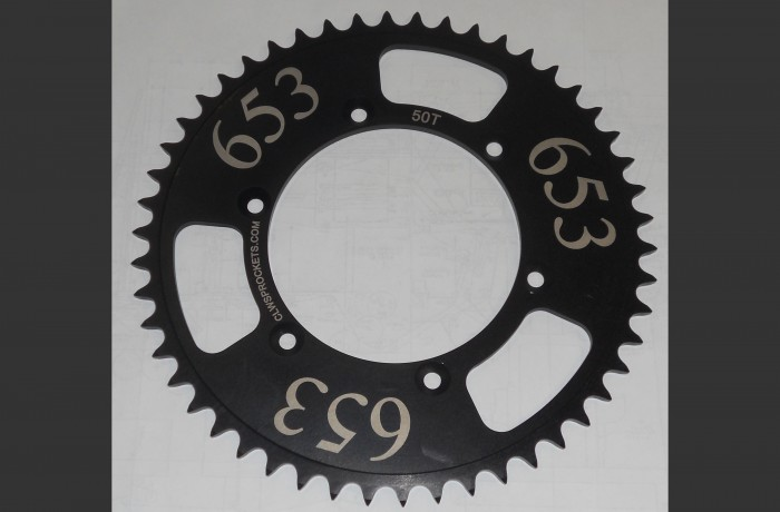 Custom Rear Sprocket for Dirt Bike